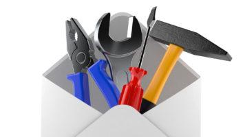 Work tools inside envelope